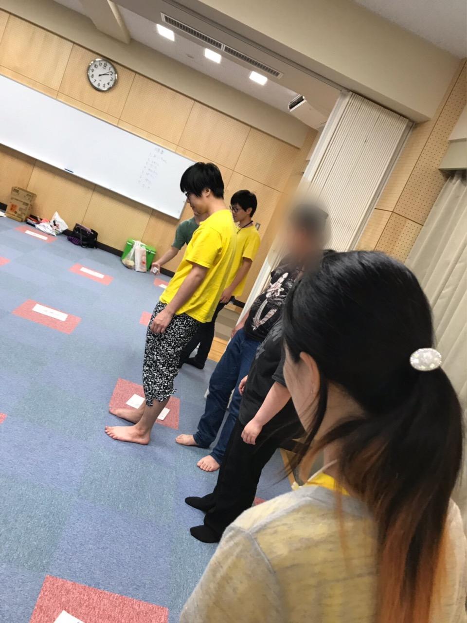 大盛り上がりの人間すごろく 〜9月活動〜